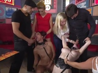 Public Orgy. Slaves in public t.me/joinchat/AAAAAFaR9hGRW1dM GEGGg