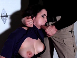 Hardcore bisexual threesome and rough ladygirl Kyra Rose