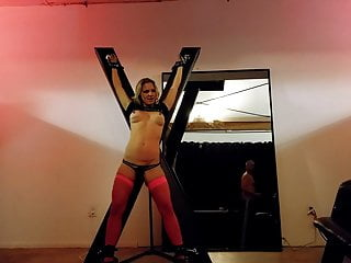 Submissive Wife Wife Taken to BDSM Dungeon
