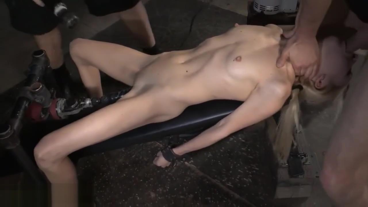Odette Delacroix [ Bdsm & Skinny Dildo and vibrator , Deep blowjob , Shav