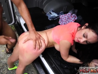 Brazilian feet punishment xxx Car problems in the middle