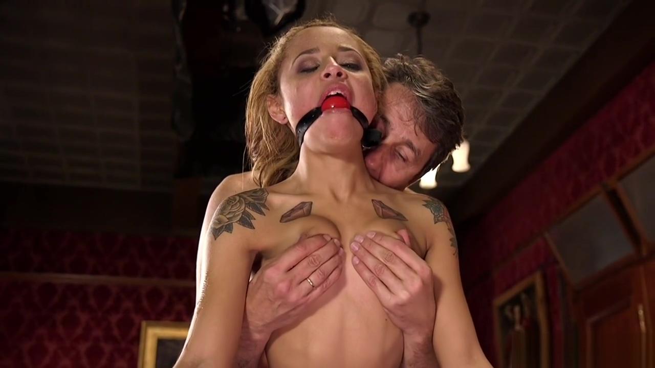 Petite tied ebony slave anal fucked