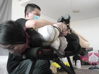 Bondage Orgasm Asian Chinese BDSM TienUp 00008