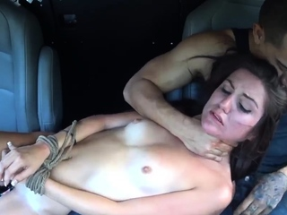 Teen girl swallows cum Renee Roulette went to a party last n