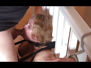 Bondage Facefuck and Pussy Licking