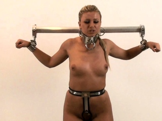 Bdsm fetish babe ass toyed