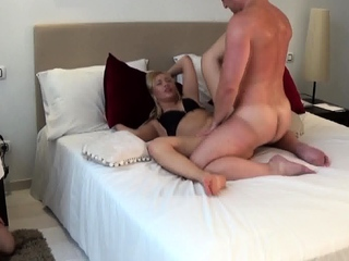 the master is fucking while joschi cuckold must watch