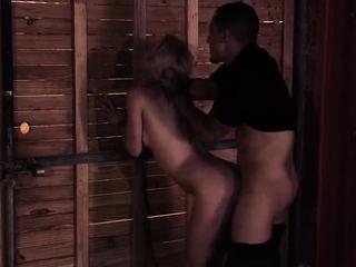 Bondage anal orgasm Poor Goldie.