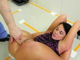 Girl punished Talent Ho