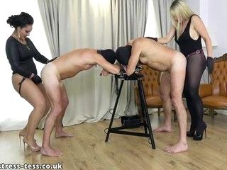 Ezada Sinn In 2 Mistresses Pegging