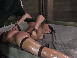 BDSM fuck on bed