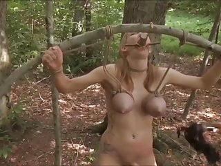 Slave in woods