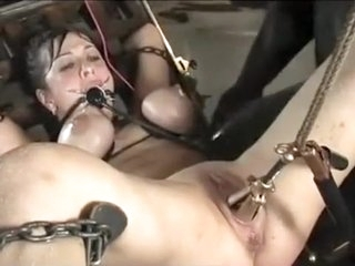 Incredible homemade Brunette, European xxx movie
