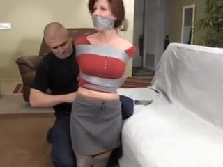 housewife taped up