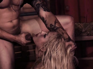 Extreme brutal anal and caged slave handjob xxx Poor