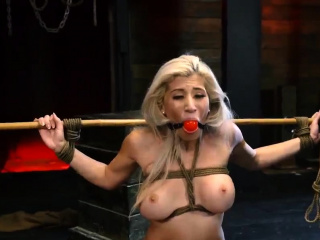 Brutal casting xxx Big-breasted towheaded sweetheart