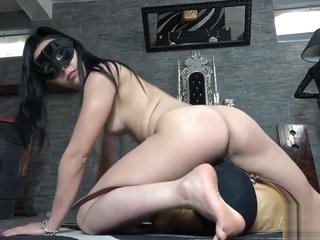 Mistress fartign a slave